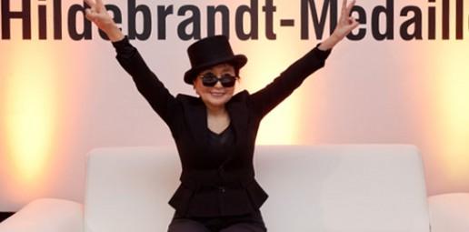 Event mit Yoko Ono