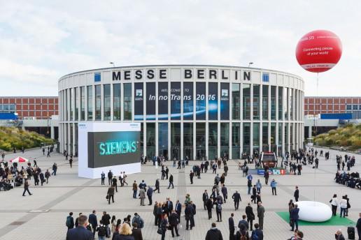 Messe Berlin Messehalle zur InnoTrans 2016