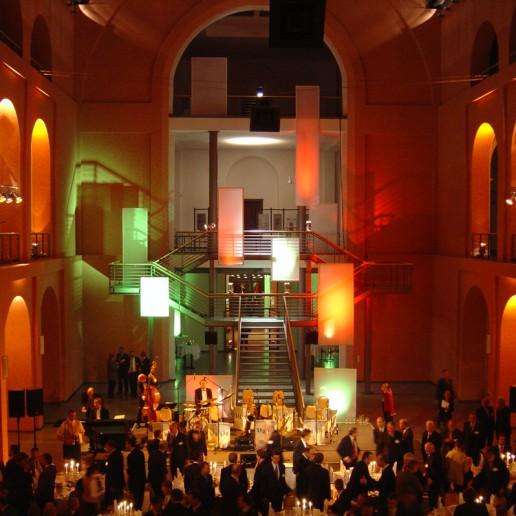 GATE Veranstaltungstechnik auf einer Gala