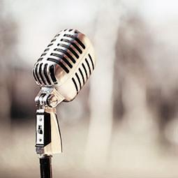 Mikrofon aus der GATE Tontechnik