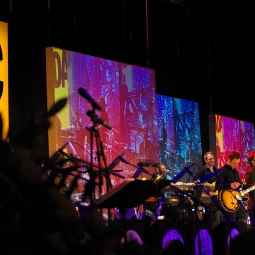 GATE Tontechnik und Musiker auf dem ADAC Ball 2009