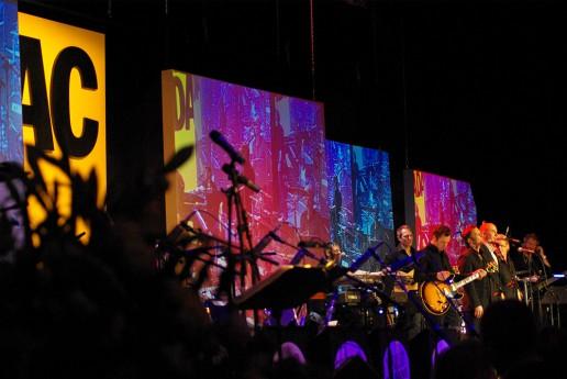 GATE Beschallungstechnik und Musiker auf dem ADAC Ball 2009