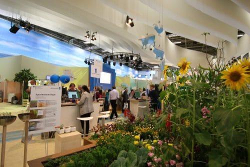 Messehalle auf der Internationalen Grünen Woche Berlin 2017