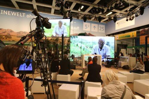 Videotechnik auf der Internationalen Grünen Woche 2017